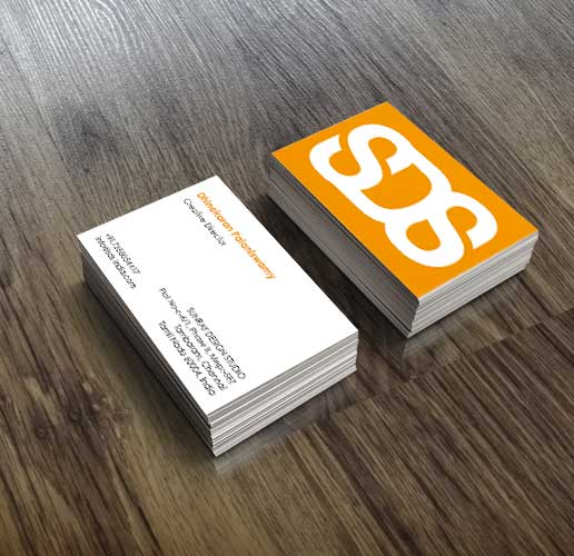 SDS business cards