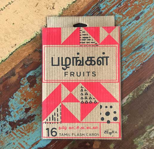 Tamil Fruits flashcards